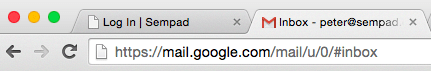 Gmail account 1